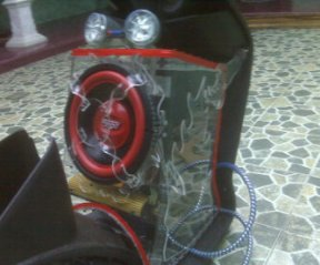 Sound System Custom Motor Matic