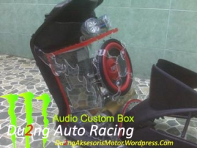 Audio Box Custom Motor Matic