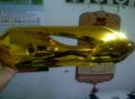 Grosir Tutup knalpot gold Honda Dan Yamaha