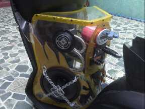 Audio Box Custom Motor Beat - Du2ng Auto Racing 0856.4355.2499