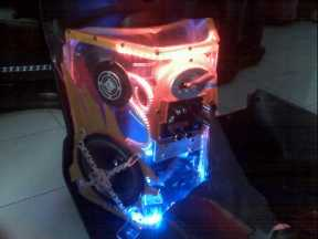 Audio Box Custom Motor Matic Beat - Du2ng Auto Racing 0856.4355.2499