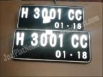 Jual Plat Nomor Acrylic Led Mobil dan Motor5 - 08564.355.2499