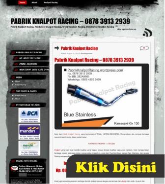 pabrik knalpot motor racing 1